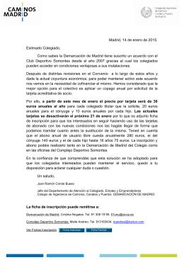 Nota Somontes - Colegio de Ingenieros de Caminos