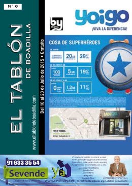 revista - El tablón de Boadilla