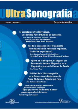 Descargar - SAEU . Sociedad Argentina de Ecografía y