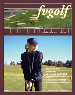 Inma Shara Artxanda Golf Club José Luis Méndez