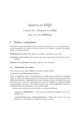 Apuntes de LATEX - Universidad de Valladolid