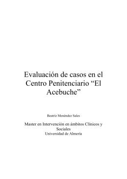 EVALUACIÓN DE CASOS - Repositorio UAL