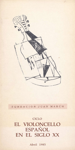 Programa - Fundación Juan March