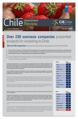 Chile - Foreign Investment Committee