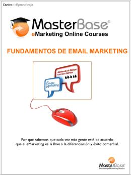 FUNDAMENTOS DE EMAIL MARKETING