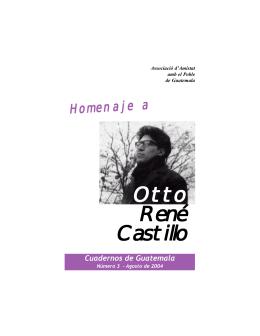 Otto René Castillo - Associació d`Amistat amb el Poble de Guatemala