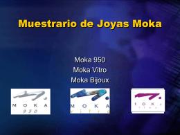 Muestrario de Joyas Moka