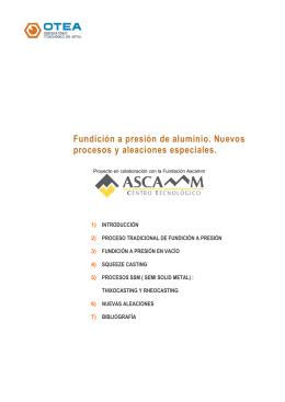 OTEA Fundición a presión de alumnio.