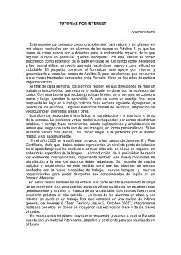 Escuela de Lenguas - Revista Puertas Abiertas