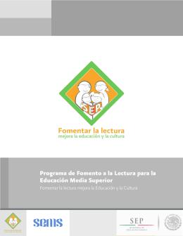Programa de Fomento a la Lectura para la Educación Media Superior