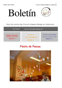 Fiesta de Pascua - Círculo Hispano