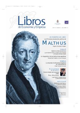 MALTHUS - Libros de Economía y Empresa