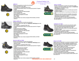CATALOGO GENERAL - general safety, s.a.