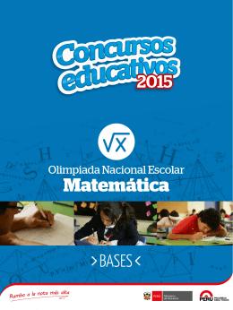 Olimpiada Nacional Escolar Matemática