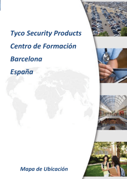 Tyco Security Products Centro de Formación Barcelona España