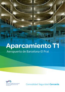 Información aparcamientos terminal T1