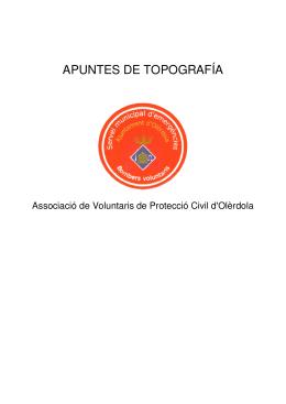 Apunte - Topografía
