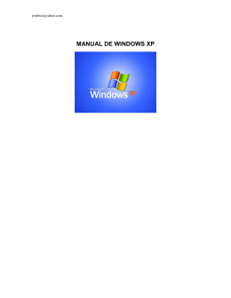 MANUAL DE WINDOWS XP