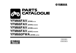 YFM66FAV(2C69)U.S.A. YFM66FAV(2C6A) CANADA