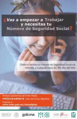 Vas a empezar a Trabajar y necesitas tu Número de Seguridad Social