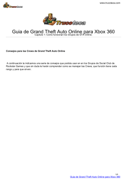 Guia de Grand Theft Auto Online para Xbox 360