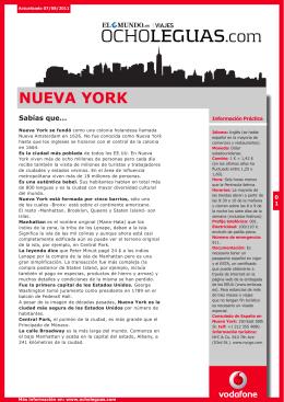 NUEVA YORK - Ocholeguas