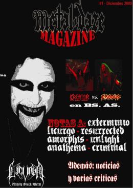 METAL-DAZE Revista