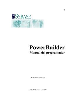 Objetos PowerBuilder