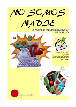 NO SOMOS NADIE - Piratas de 4ºD