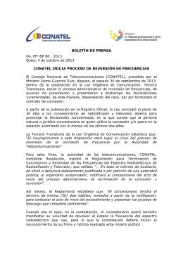 descargar - Ministerio de Telecomunicaciones
