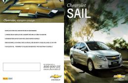 Catálogo del Chevrolet Sail
