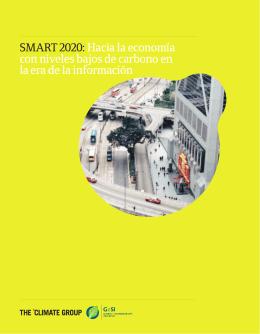 SMART 2020:Hacia la economía con niveles bajos de