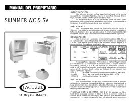 Skimmer W/V