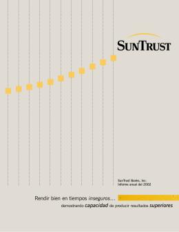 SunTrust Informe anual del 2002