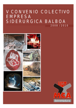 convenio SIDERÚRGICA BALBOA.pmd