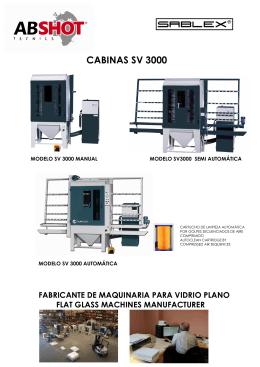 CABINAS SV 3000