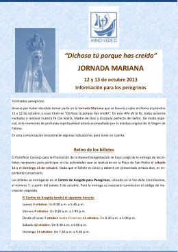 JORNADA MARIANA
