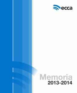 Memoria Institucional 2013-2014