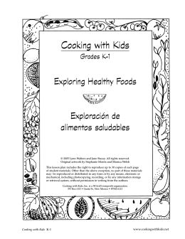 food - Cooking with Kids