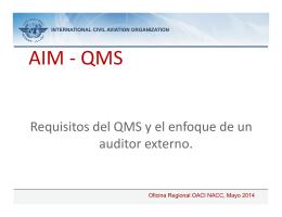 AIM - QMS
