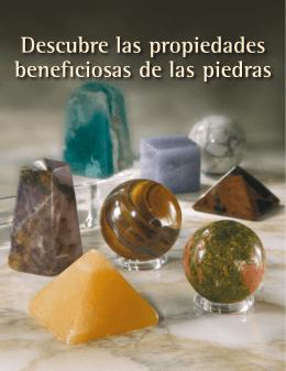 Descubre las propiedades beneficiosas de las piedras