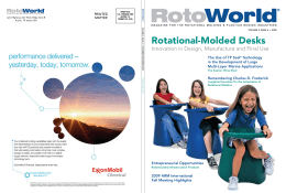 Rotational-Molded Desks