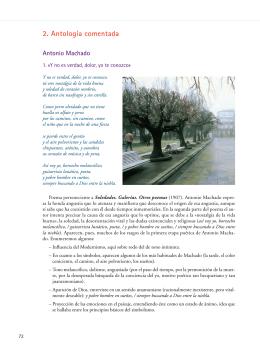 2. Antología comentada - Departamento de Lengua y Literatura