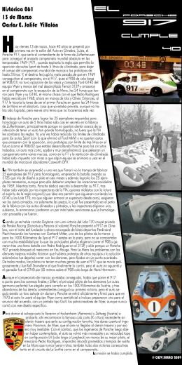 El Porsche 917 cumple 40