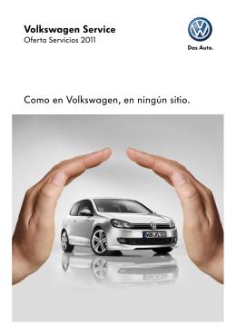 Volkswagen Service Como en Volkswagen, en ningún sitio.