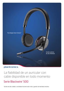 La fiabilidad de un auricular con cable disponible en