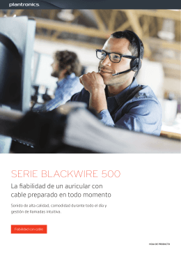 SERIE BLACKWIRE 500
