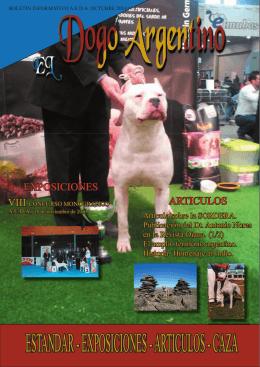 articulos - caza - Asociación Española Del Dogo Argentino