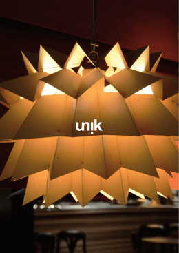 unik restaurant press kit
