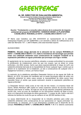 alegaciones Casablanca2014
